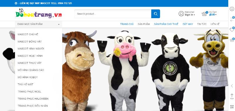 thiet ke web may-mascot