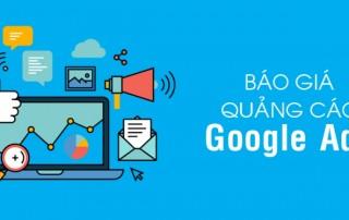 Bảng giá chạy quảng cáo googla adwords